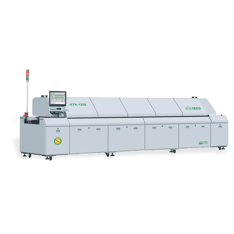 12 Zones Hot Air SMT Reflow Oven KTR-1200