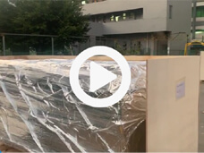 Reflow Oven Packed in Wooden box and Vacuum packaging