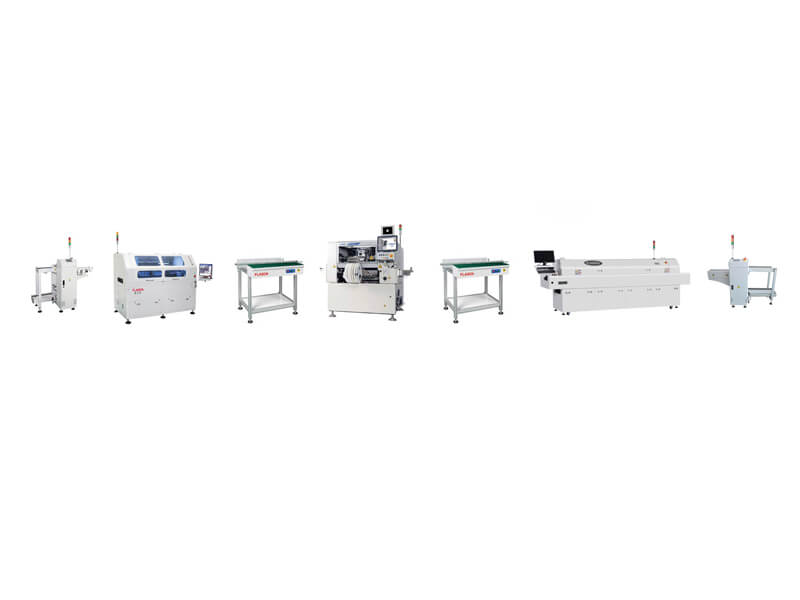 Middle Output DIP production line